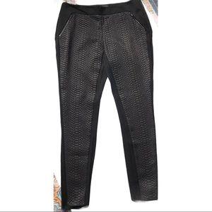 Ted Baker snakeskin front pants